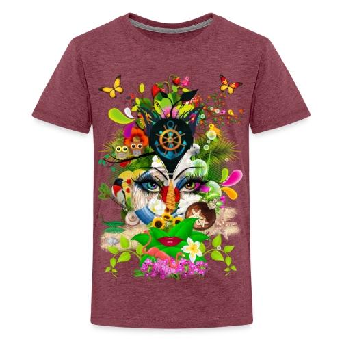 Parfum d'été by T-shirt chic et choc - T-shirt Premium Ado
