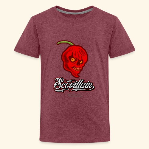 Chili Chilischote Chilihead Scovillain - Teenager Premium T-Shirt