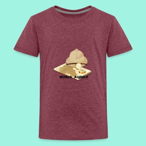 World Agency - Teenager Premium T-Shirt