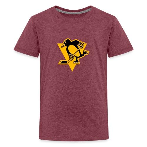 Pittsburgh Penguins Stadium Series Logo PIT - Teinien premium t-paita