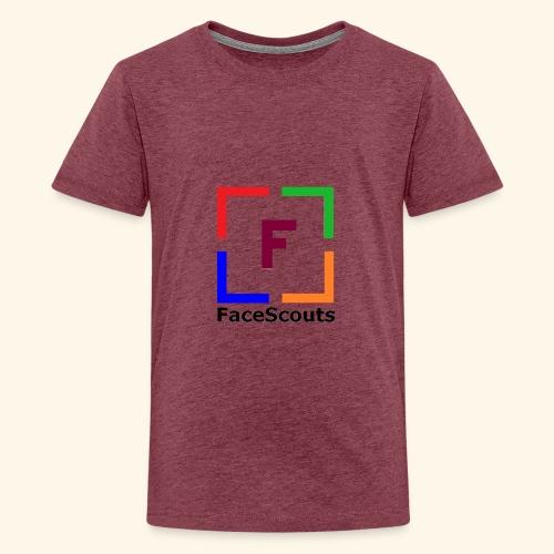 Logo FaceScouts - T-shirt Premium Ado