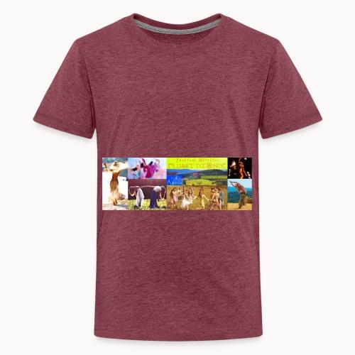 Locandina #festivalflussidionde - Maglietta Premium per ragazzi
