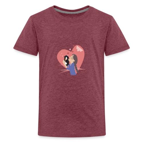 A big hug! Een dikke knuffel voor jou! - T-shirt Premium Ado