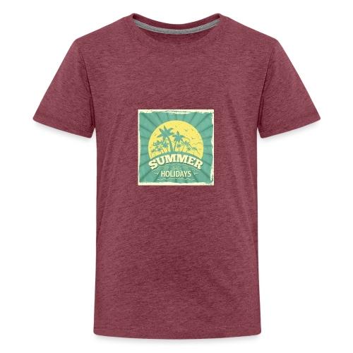 conception lettres ete - T-shirt Premium Ado