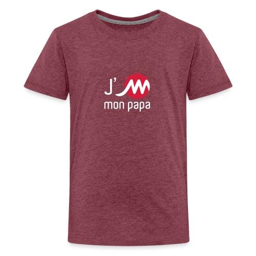jMpapablancrouge - T-shirt Premium Ado