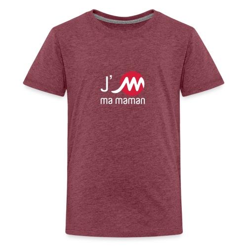 jMmamanblancrouge - T-shirt Premium Ado