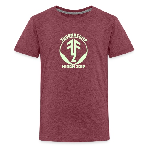Logo2019Mirow - Teenager Premium T-Shirt