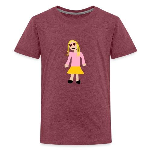 Siiri - Teinien premium t-paita