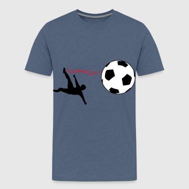 mål - Premium T-skjorte for tenåringer