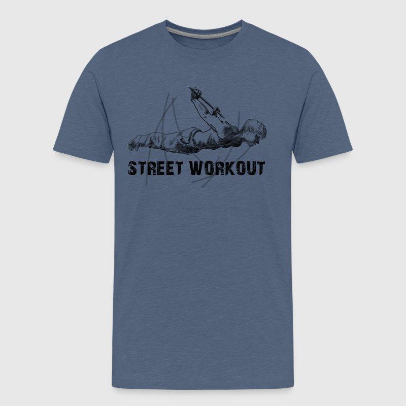 street workout - Koszulka młodzieżowa Premium