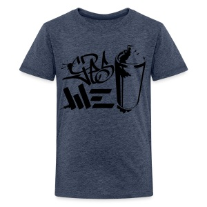 Yes We (spray)Can Graffiti handstyle tag - Teenager Premium T-Shirt