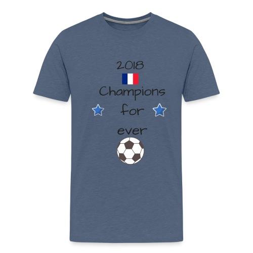 Champions du monde 10 - T-shirt Premium Ado
