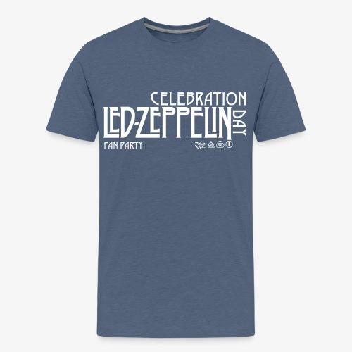 LZ Fan Celebration Day White - Maglietta Premium per ragazzi
