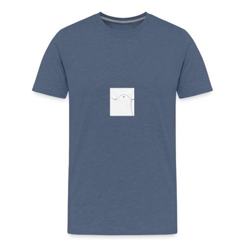 tee shirt femme aucun karma - T-shirt Premium Ado