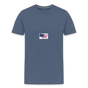 porte clé américain - T-shirt Premium Ado