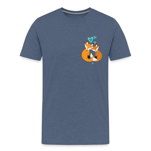 Fox And Tea #LoveIsLove - Maglietta Premium per ragazzi