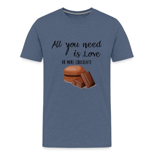 Tout le monde a besoin de chocolat - T-shirt Premium Ado