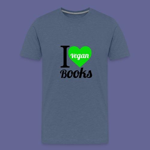 I love VEGAN books! - Teenager Premium T-Shirt