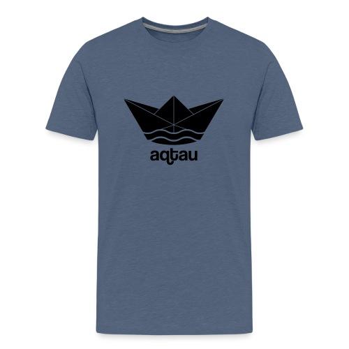 Aqtau Papierschiff Kasachtan Design - Teenager Premium T-Shirt