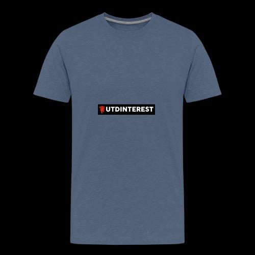 Utd Interest Logo - Teenage Premium T-Shirt