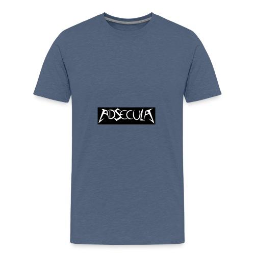 Adsecula logo - Premium T-skjorte for tenåringer