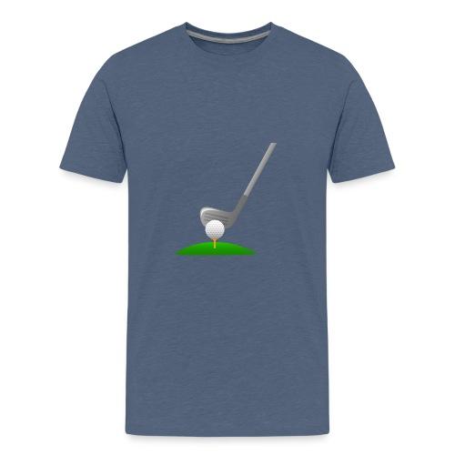 Golf Ball PNG - Camiseta premium adolescente