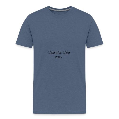 Uno Di Uno simple cotton t-shirt - Teenage Premium T-Shirt