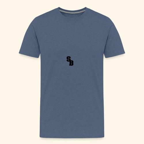 steelbeast logo - Premium T-skjorte for tenåringer