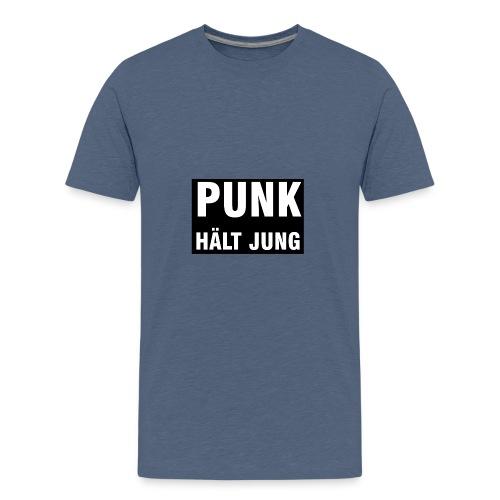 Punk hält jung - Teenager Premium T-Shirt