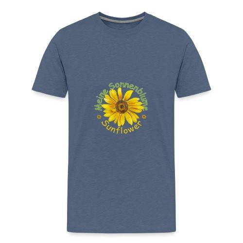 Meine Sonnenblume - Teenager Premium T-Shirt