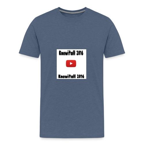 Knowitall 2016 Custom design - Teenage Premium T-Shirt