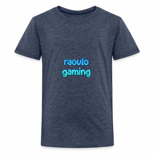 Kinder colectie raoulo gaming - Teenager Premium T-shirt