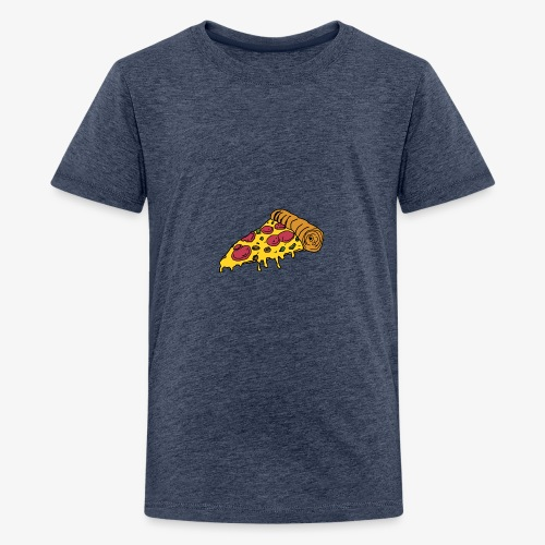 Brandon-B- PIZZA NIGHT - Teenage Premium T-Shirt
