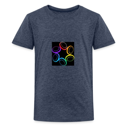 Cricle of Life T-Shirt - Teenage Premium T-Shirt