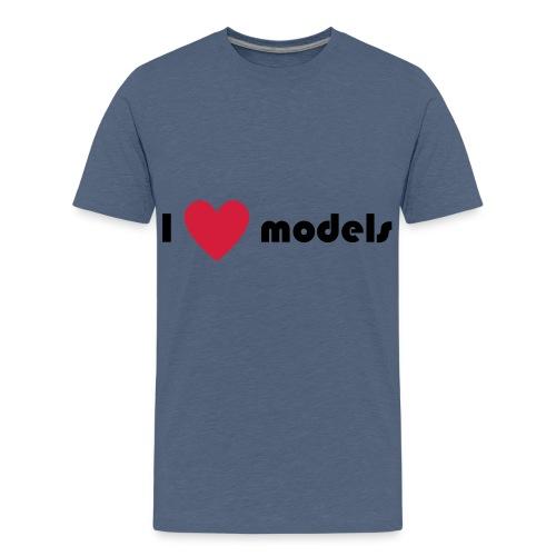 I love models - Teenager Premium T-shirt
