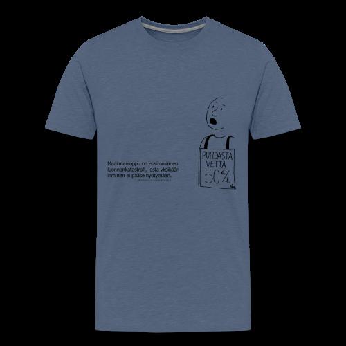 Aforismi maailmanloppu - Teinien premium t-paita