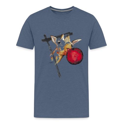 girafe et son ballon - T-shirt Premium Ado