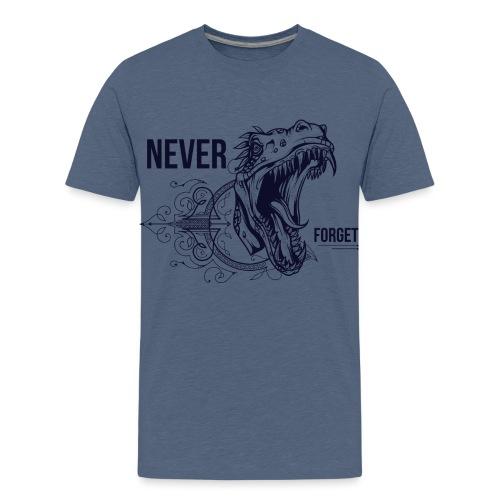Vintage Dino - Teenager Premium T-Shirt
