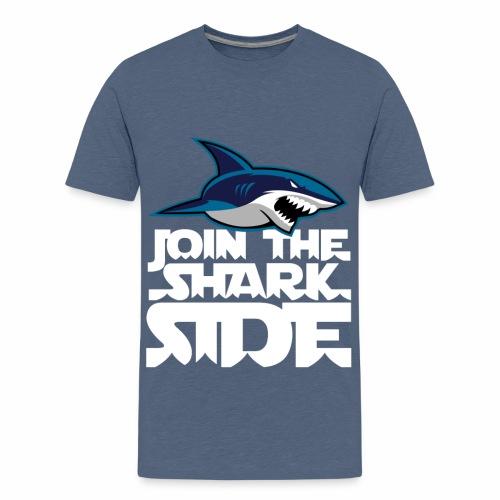 Join the shark side - Premium-T-shirt tonåring