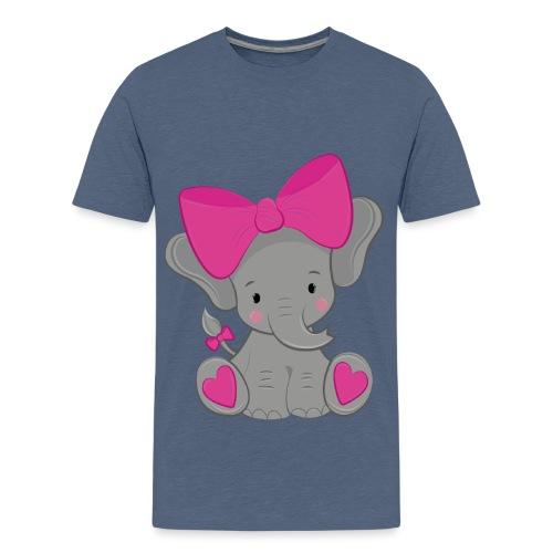 elefante - Camiseta premium adolescente