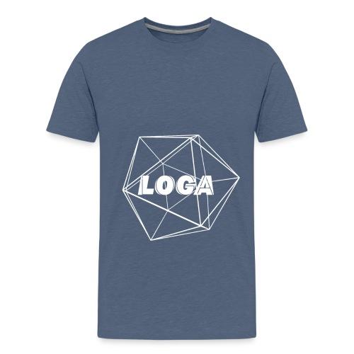 fertig weiß - Teenager Premium T-Shirt