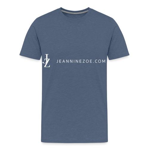 JZ Logo (weiss) - Teenager Premium T-Shirt