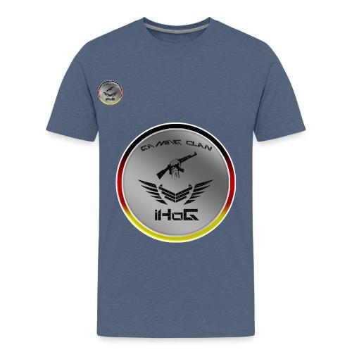 iHoG Logo - Teenager Premium T-Shirt