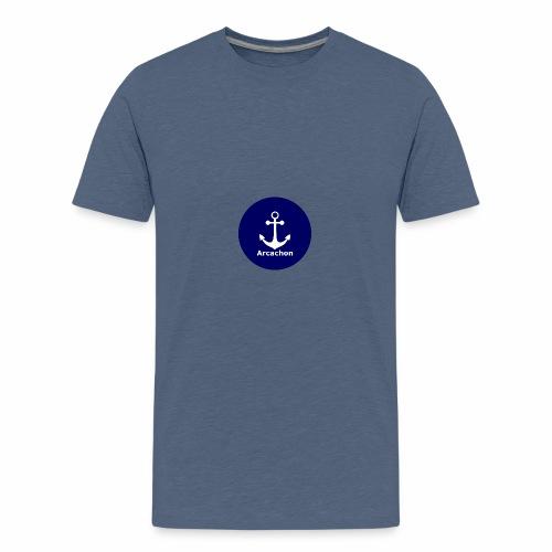 Arcachon Ancre blanc - Teenage Premium T-Shirt