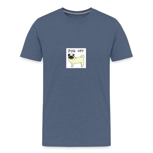 original pug shirt - Teenage Premium T-Shirt