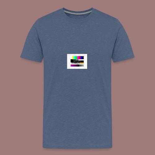 AC-AY STÖRBILD - Teenager Premium T-Shirt