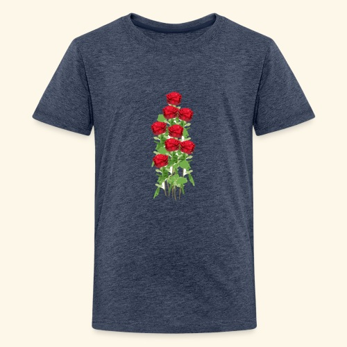 rote rosen - Teenager Premium T-Shirt