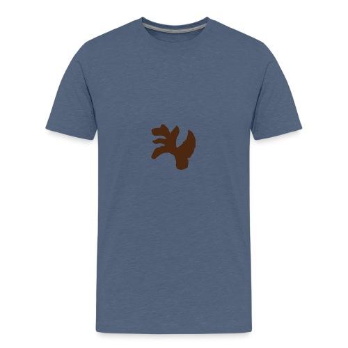 Leichtes Desing für Frauen und Männer - Teenager Premium T-Shirt