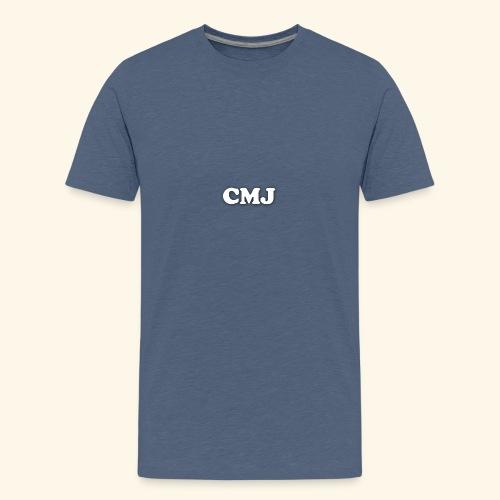 CMJ white merch - Teenage Premium T-Shirt