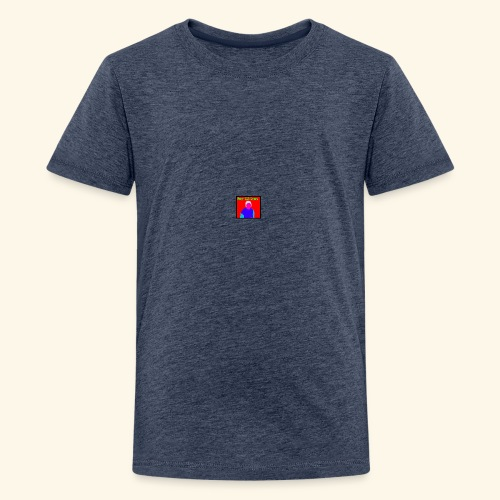 Beast 1425 gaming logo - Teenage Premium T-Shirt